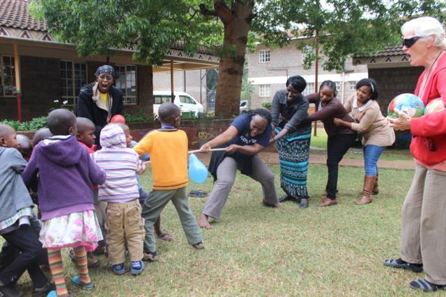 Nyumbani CSR Visit by CHS
