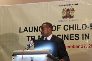 Dr Joseph Sitienei, Head of Strategic Health Programs at the Ministry of Health
