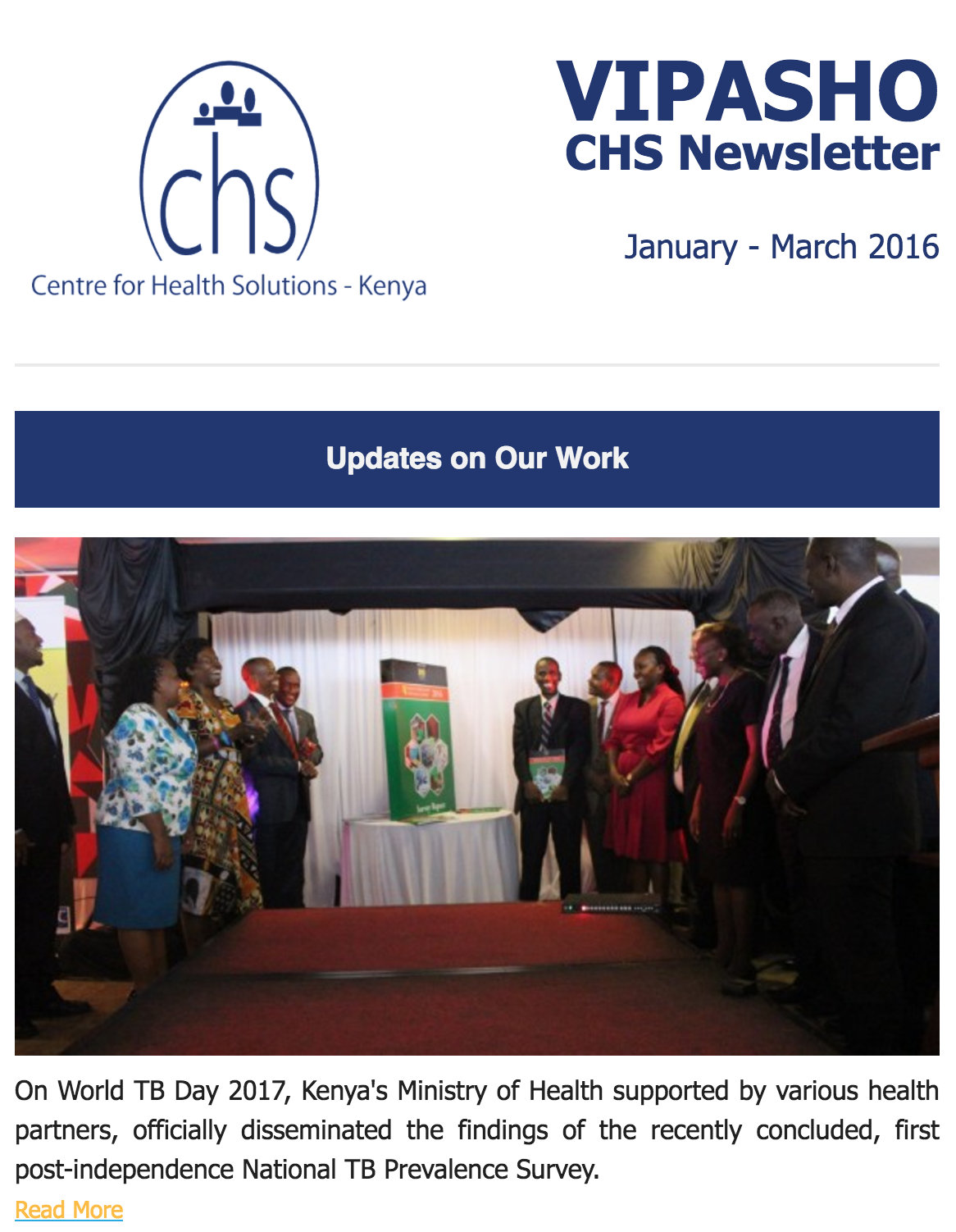 CHS Vipasho – January to March 2017
