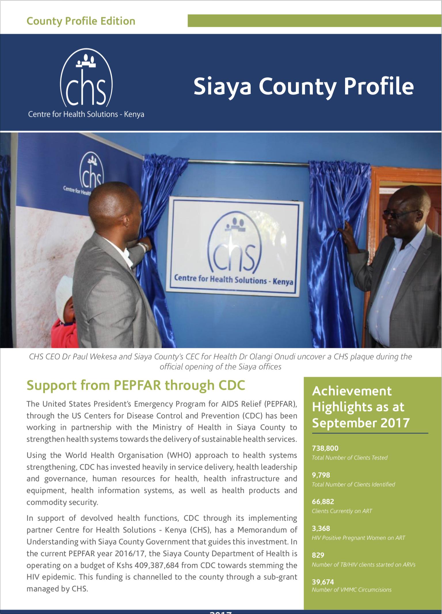 Featured Image - Siaya County Profile